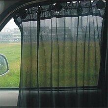 LnLyin Auto Sonnenschutz Vorhang Saugnapf Fenster UV Schutz Seitenvorhang