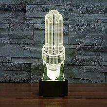 LNLZ Energiesparlampe 3D-Licht buntes