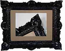 Lnxp Antik Barock BILDERRAHMEN in Schwarz 56x46cm