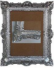 Lnxp Antik Barock BILDERRAHMEN in Silber 56x46cm