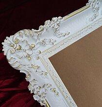 Lnxp Bilderrahmen Rahmen Weiß/Gold Dualcolor