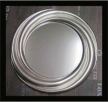 Lnxp Rund Runder Wandspiegel Silber 68 cm
