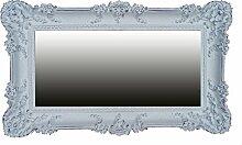 Lnxp WANDSPIEGEL BAROCKSPIEGEL Weiß Silber 96x57