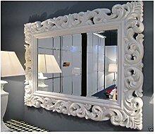 Lnxp Wandspiegel WEIß Spiegel ANTIK BAROCK Rokoko