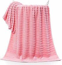 Lnyy Bambus-Faser Handtuch Bad Handtuch Weiches