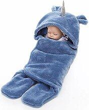 Lnyy Lamb Samt Windeln einfach Winter warme Baby