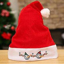 Lnyy Weihnachtsmütze Kinder Weihnachten Hut