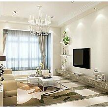 Loaest 0,60Mx3M Selbstklebende Tapete Mit Kunststoff Wallpaper Einfache Moderne Wohnzimmer Schlafzimmer Sofa Fernsehen Kulisse Dreidimensionale Grüne Farbe Film Weiß