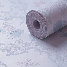 Loaest 053 M * 5 M Verdickung Vliesstoff Selbstklebende Tapete Schlafzimmer Fernseher Hintergrund Shop Büro Sanierung Tapeten Blau