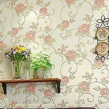 loaest 4Farben Wallpaper Pretty Rose Super Heavy Tapete Rolle für 10Meter Kostenloser Versand nach Global