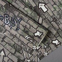 Loaest Amerikanische Retro, Britische Zeichen, Buchstaben, Graffiti, Ziegel, Hintergrundbilder, Restaurants, Bars, Cafés, Internet - Cafés Im Hintergrund Mauern, Wallpaper,55 500 Und 4,Tapete Nur