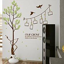 Loaest Bilderrahmen Wand Aufkleber Aufkleber Tree Restaurant Shop Dekoration Wohnzimmer Sofa Hintergrund Wand Aufkleber