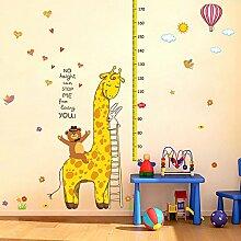 Loaest Die Bären Und Giraffen Kinderzimmer Wand Dekoration Aufkleber Für Die Höhe Des Kindergarten Cartoon Höhe Aufkleber