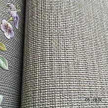 Loaest Ein Tuch Tapete Graue Leinen - Bettwäsche Tief Druck Textur Einfache Wohn - Und Schlafzimmer Tapete Dekoration Farbe,Hellgrau,Tapete Nur