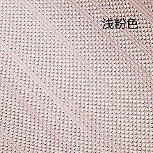 Loaest Einfache Kurve Quaste Vliestapeten Schlafzimmer Wohnzimmer Tapete Farbe Dickes Normalpapier Modernen Stil Der Dekoration Light Pink