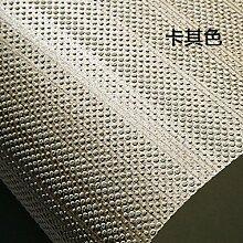 Loaest Einfache Kurve Quaste Vliestapeten Schlafzimmer Wohnzimmer Tapete Farbe Dickes Normalpapier Modernen Stil Der Dekoration Khaki