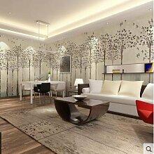 Loaest Einfache Moderne Handbemalten Tapeten Schlafzimmer, Wohnzimmer Mit Sofa, Fernsehen Hintergrund Wand Tapeten Wandgemälde Aus Bemaltem Holz,Nahtlose 5D - Prozess