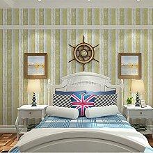 Loaest Einfache Moderne Im Europäischen Stil Tapete Mit Eingedicktem Selbstklebende Pvc Kleber Schlafzimmer Wohnzimmer Wurde Das Fernsehen Hintergrund Tapete Wand 0,45 Mx10 M/Streifen