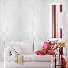 Loaest Einfache Moderne Im Europäischen Stil Tapete Mit Eingedicktem Selbstklebende Pvc Kleber Schlafzimmer Wohnzimmer Wurde Das Fernsehen Hintergrund Tapete Wand 0,45 Mx 10 M Gewelltem Rand