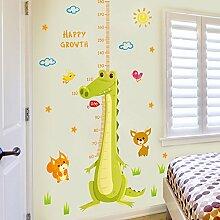 Loaest Giraffen Cartoon Wand Aufkleber Real Baby Schlafzimmer Kindergarten Klassenzimmer Wand Dekoration Des Höhenmesssystems Kinder Aufkleber