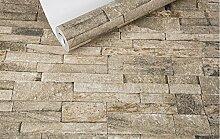 loaest Home Dekoration Brick Tapete Antik Wohnzimmer Restaurant Bar Coffee Shop Retro 3D Tapete Rolle Foto