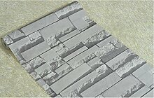 Loaest Imitation Brick Wallpaper Clothing Store Dekoration 3D Hintergrundbild Hintergrundbild für Wände 3D Papel de Parede, Farbe 1, 5.3 qm.