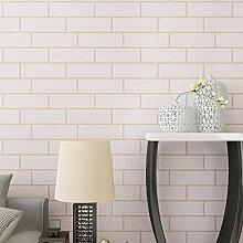 loaest Kulturelle Stein Tapete, Weiß dreidimensionale Simulation, Retro Brick, Tapete, Vlies Stoffe,, Kleidung Shop, Coffee Shop