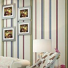 loaest Mediterraner Colorful vertikalen Streifen Vlies Wallpapers Wall Panel Dekoration 3D Papier pepel (de parede 3D