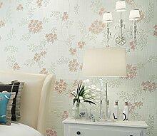 Loaest Moderne Home Hintergrund Dekoration 3D Wallpaper die Wallpaper Pink große Blume Wohnzimmer Tapeten Rollen, Modell 6002, 5,3 qm.