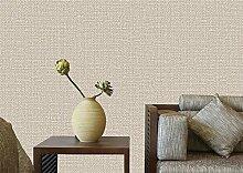 loaest Neue moderne minimalistische Leinen Tapete Wohnzimmer TV Hintergrund Vlies Dekoration Main Tapete für Wände 3D