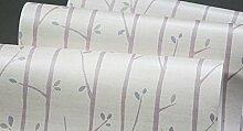 loaest pepel (de parede Äste Kinderzimmer Rosa Vliestapete hellgrün Schlafzimmer Hintergrund Tapete