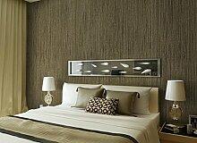 Loaest Reine Imitation Plain Stroh Tapete Wohnzimmer Schlafzimmer Warm Bedeckt Mit Einfachen Leinenstruktur Hintergrundbild Bush Braun