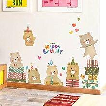 Loaest Schöne Tragen Kinderzimmer Schlafzimmer Dekoration Wandaufkleber Tier Schule Kindergarten Layout Wall Sticker
