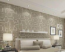 loaest Stereo Relieftapete Home Dekoration Hintergrund Wohnzimmer Schlafzimmer TV Hintergrund 3D Tapete Rolle pepel (de parede