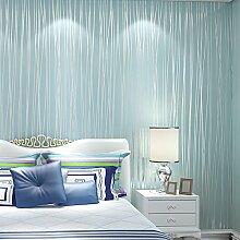 Loaest Wallpaper für Wände 3D-Bodenbeläge Non-Woven Tapete gestreifte Tapeten Papel de Parede Listrado Wallpaper-3D, 7066 Pink, 5,3 qm.