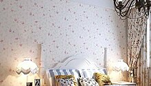 Loaest Warme Pastorale Schlafzimmer Wohnzimmer Mit Schnupftabak Pink Wallpaper Wallpaper Hochzeitszimmer Mit Vliestapeten Wenxinzi