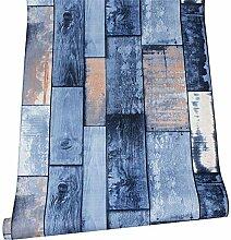 LoaiZh Holz Plank Tapete Für Wände 3D Pvc Modern