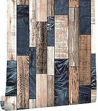 LoaiZh Vintage Holz Tapete Für Wände 3D