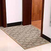 Lobby Tür Teppich/ Eingang Flur Teppich/ Anti-Rutsch-Teppich wasserabsorbierenden-D 80x120cm(31x47inch)
