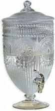 LOBERON Getränkespender Mercure, klar (36cm)