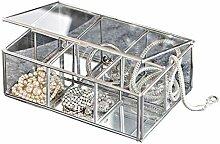 Loberon Glasbox Moira, Glas, H/B/T ca. 5,5/15 / 10