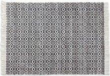 LOBERON In- & Outdoor-Teppich Eitan, schwarz/weiß