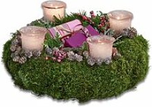 LOBERON Kerzenhalter 4er Set Issio, rosa (10cm)