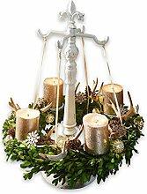 Loberon Kranzständer Antwan, Weihnachtsdeko,