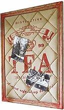 Loberon Memoboard Tea Time, Wohn-Accessoires,