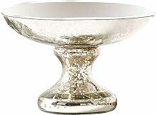 Loberon Schale Estelle, Glas, H/Ø 13,5/20 cm,