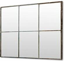 LOBERON Spiegel Bear, antikschwarz (3 x 118 x 80cm)