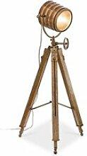 LOBERON Stehlampe Lestat, antikbraun (86 x 86 x