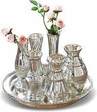 LOBERON Tablett mit Vasen Blairville,