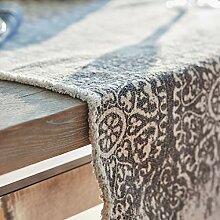 Loberon Tischläufer Flann, Küchentextilien, 100%